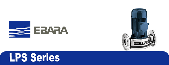 فروش پمپ سیرکولاتور خطی ابارا (Ebara) سری LPS