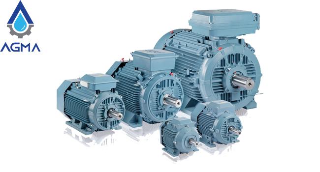الکتروموتور-ABB-پوسته-چدن