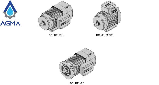 انواع الکتروموتور SEW