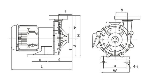 کاتالوگ پمپ مگنتی پلیمری اس پی سی